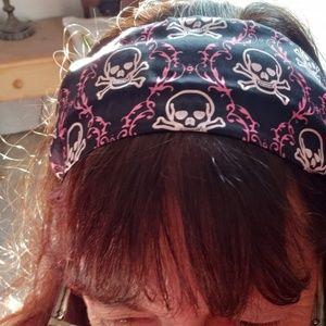 Rachel Weissman Wide Silk Headband